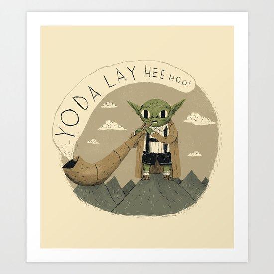 yodaling  Art Print
