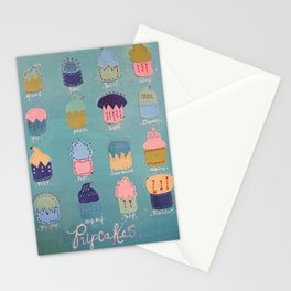 Pupcakes Stationery Cards