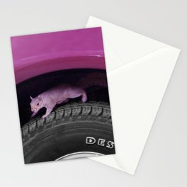 Up & down the wheel I go Stationery Cards