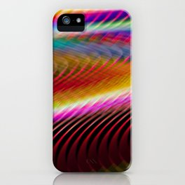 Colour in motion. iPhone Case