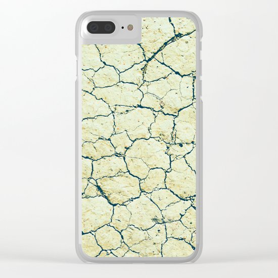 Dry Lake Bed Clear iPhone Case