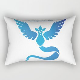 Team Mystic - Learning Is The Key Rectangular Pillow