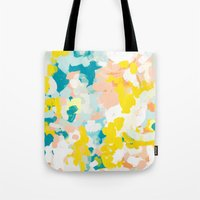 Tote Bags featuring Leanne by Patricia Vargas