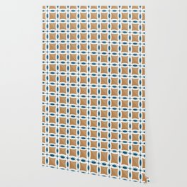 Circles with lens pattern and Diamond Wallpaper