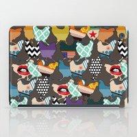 cincinnati iPad Cases featuring Cincinnati Chickens by Sharon Turner