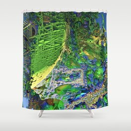 Shoots and Ladders Shower Curtain