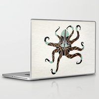 octopus Laptop & iPad Skins featuring octopus by Manoou