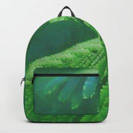 Fern leaves watercolor painting #1 Backpack