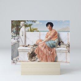 In the Days of Sappho Mini Art Print