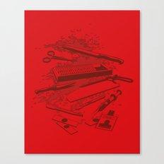 Serial Killer Toolbox Canvas Print