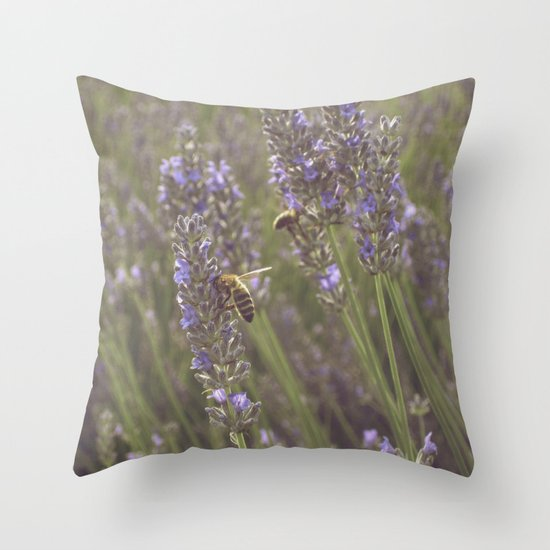 Beez Throw Pillow