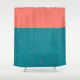 XVI - Peach 2 Shower Curtain