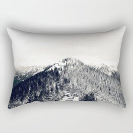 Only Half the Trees, Dusted in Snow Rectangular Pillow