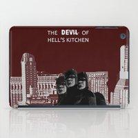daredevil iPad Cases featuring Daredevil by amyskhaleesi