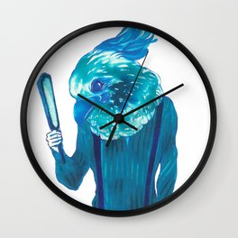 Baby Blue #1 Wall Clock
