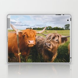 Highland Cows - Blep Laptop & iPad Skin