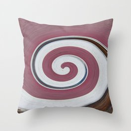 Swirl 06 - Colors of Rust / RostArt Throw Pillow