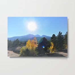Somehow Inbetween Metal Print