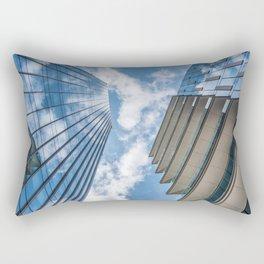 Clouds in a blue sky Rectangular Pillow