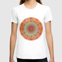 chakra T-shirts featuring Sacral Chakra by brenda erickson