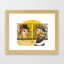 Lying Is The Most Fun Framed Art Print