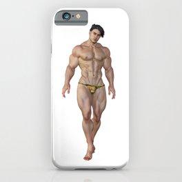 Joel geht schwimmen iPhone Case