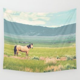 Summer Pasture Wall Tapestry