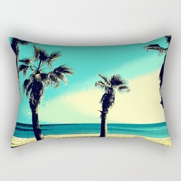 Sunny day at the beach ( Alicante, Spain ) Rectangular Pillow
