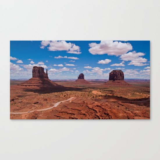 Monuments of Utah Canvas Print