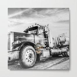 American Trucker Metal Print
