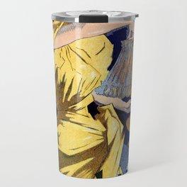 Kerosene oil  by Jules Cheret Travel Mug