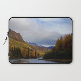 Matanuska River Alaska Laptop Sleeve