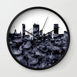 Birmingham Skyline Great Britain Wall Clock
