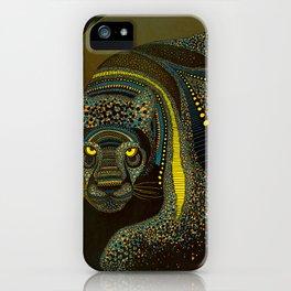 Dark Jaguar iPhone Case