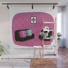 construire / Dr Rorschach Wall Mural