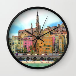 Old Town Menton Wall Clock