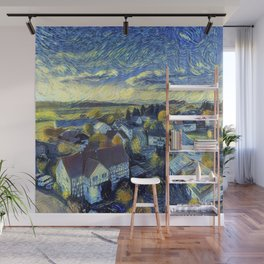 "Gogh's by The Bürg Atelier Collection - ""The Little Village"" Wall Mural"