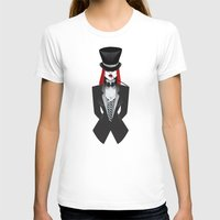 gotham T-shirts featuring Gotham Masquerade by Cristina Stefan