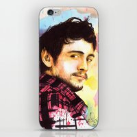 james franco iPhone & iPod Skins featuring James Franco by Anguiano Art