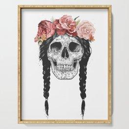 Festival skull Serving Tray
