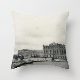 Palace of Versailles Throw Pillow