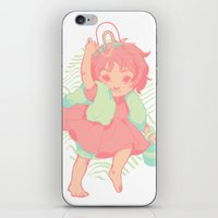 ponyo iPhone & iPod Skins featuring Ponyo by Luciana Nascimento