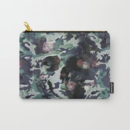 Camouflage Skull V2 Carry-All Pouch