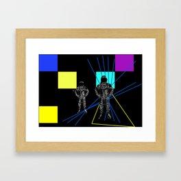 Monday duo Framed Art Print