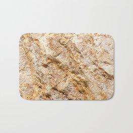 Limestone Textures 9 Bath Mat