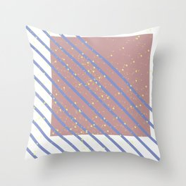 naive texture 4 Throw Pillow