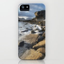 Elgol in Sunlight iPhone Case