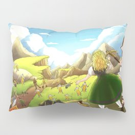 William Tell Freedom Fighter Pillow Sham