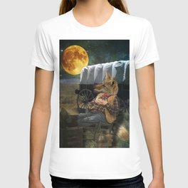 Tom Coyote in Deep Thought T-shirt