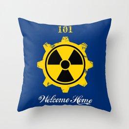Vault 101 Throw Pillow